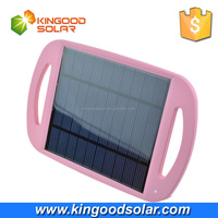 2.5W Portable Directly Solar Panel Charger with coloful free logo customized