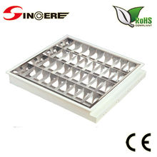 decorative iron grilles T8/T5 fluorescent louver office fittings Recessed grill recessed covers