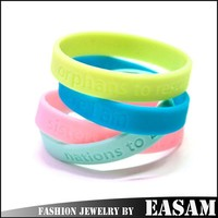 Cheap custom silicone bracelet silicone wrist band