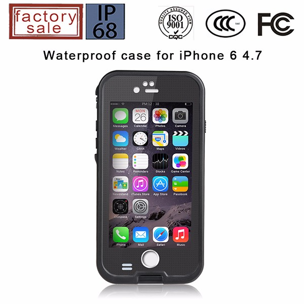 Luxury waterproof handphone casing for iphone 6S plus, for iphone6S plus hybrid case