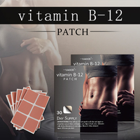 Hot Slimming product Vitamin B12 energy patch Garcinia Cambogia Vitamin Patch