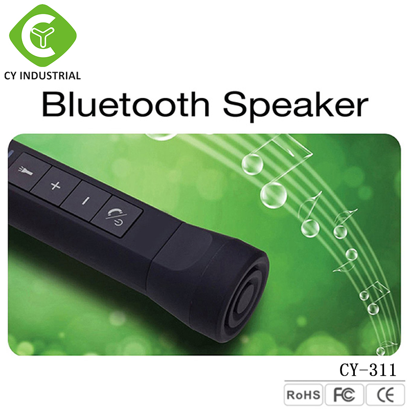 New lifestyle products Multifuntion Mini portable wireless bluetooth speaker With LED Torch Power Charging Available