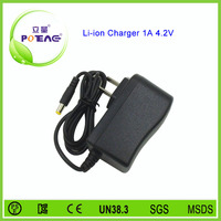 high quality li ion battery charger 3.7v 1a dc 4.2v