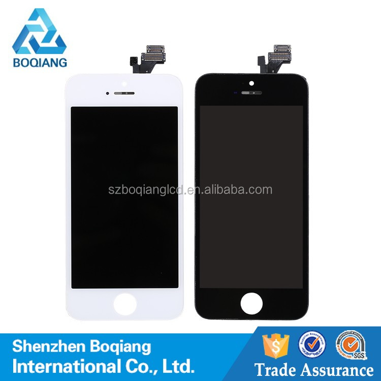 Full test 4 inch lcd touch screen for iphone 5 ,for iphone 5 lcd display with 12 months warranty
