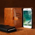 Newest Popular Style Protectvie Mobile Phone Back Cover Case for iPhone 7 Case PU Leather Case With Holder for iPhone 7