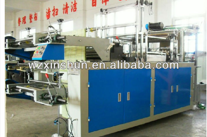 Ruian Xinshun new product patch handle bag making machine