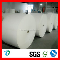 100% virgin wooden pulp Raw material for paper cup fan
