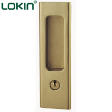 China factory metal and wood entrance sliding rolling door lock
