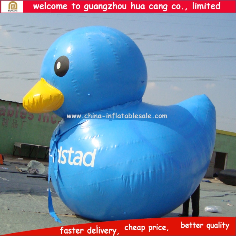 New style advertising customized giant inflatable promotion duck for sale