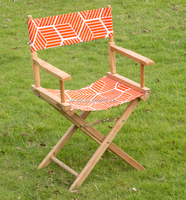 Foldable Wooden director chair