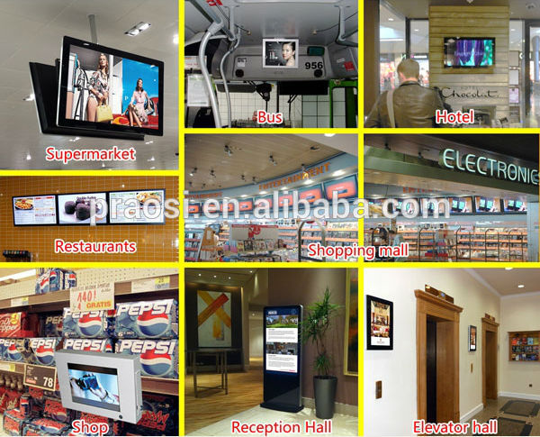 2018 Shenzhen factory new 7 inch lcd digital advertising display screen digital photo frame