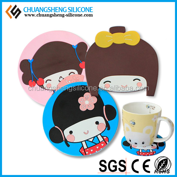 LOVELY PRINTIN FORM SILICONE CUP PAD OR MAT,FORM AND PRINTIN CAN BE CUSTOMIZED
