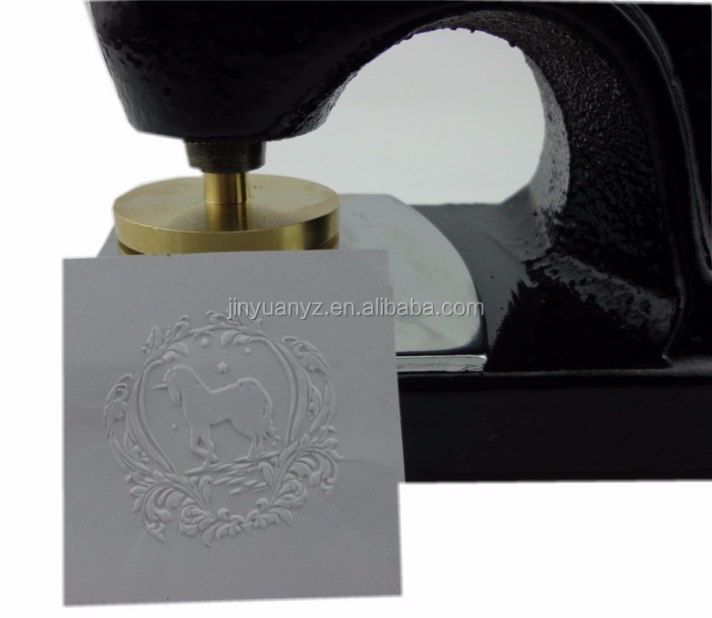 China manufacturer wholesale latest designs wax embossing stamps making machines