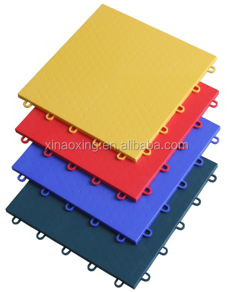 SUGE Indoor Multi-Purpose Interlocking Sports Court Flooring