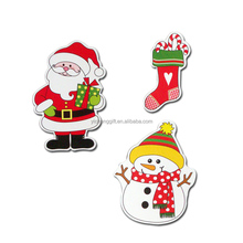 OEM Factory Custom Logo Christmas Fridge Magnet Snowman Fridge Magnet