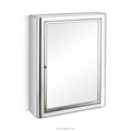 Two specification stainless steel Bathroom mirror cabinet 7019