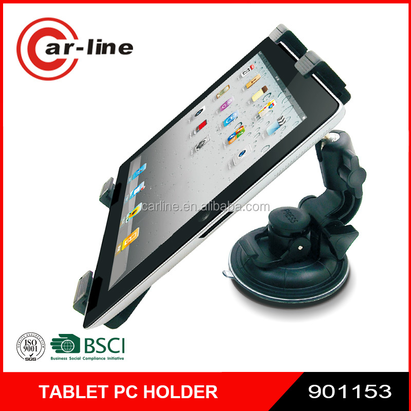 New 360 Rotation Universal Car Windshield Tablet PC Mount for 7-10inch with with Suction