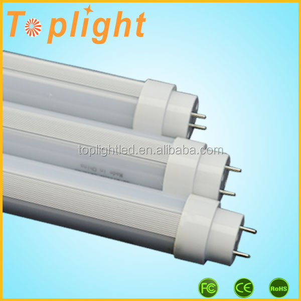Double-side light emitting 360 degree tube 10 led fluorescent lamp