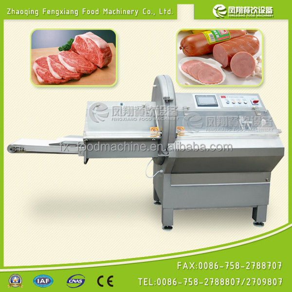 FC-42 industrial automatic chicken steak cutting machine (SKYPE: +86 13229046637)