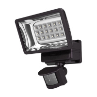 New coming best-selling 3w solar security sign light
