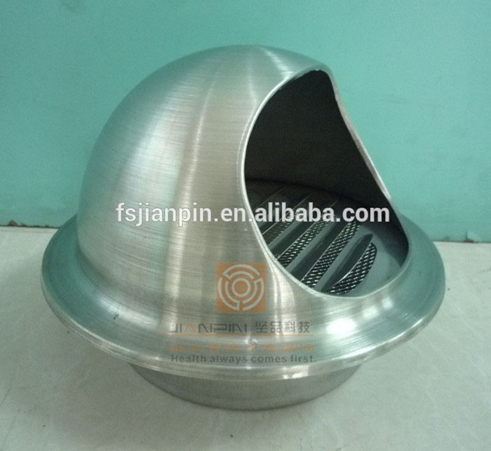 Stainless Steel Exhaust Air Outlet Decorative Round Diffuser for Central Air Conditioning