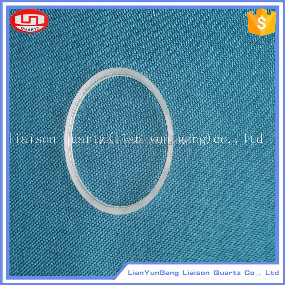 wholesale small frosted glass domes price quartz glass tube