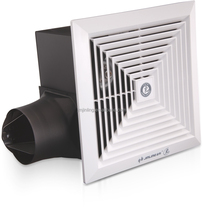 Lavatory/lobby ceiling tubular sirocco full metal ventilation exhaust fan