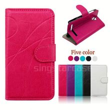 leather back case cover for huawei u9200 / ascend p1