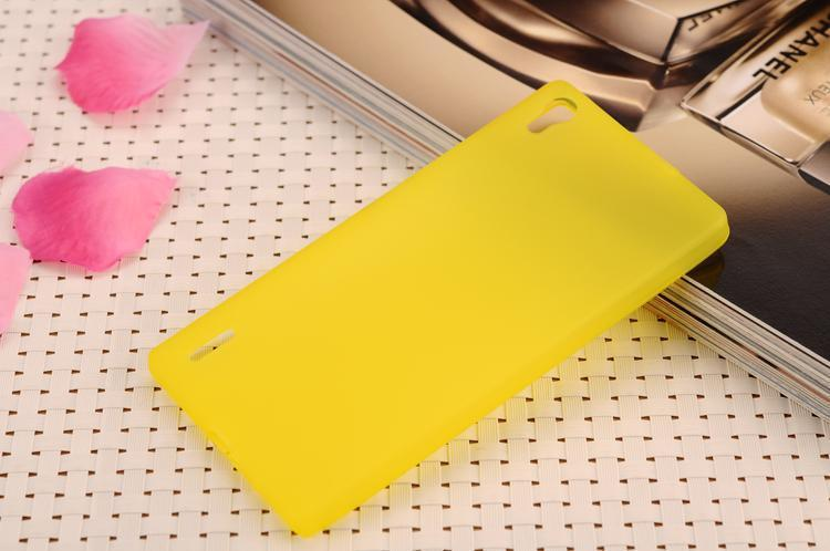 For Huawei Ascend P6 Matte TPU Gel Back Case Cover