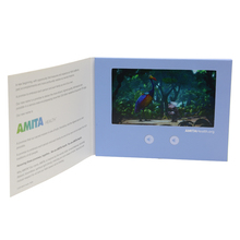 promotion lcd video business card