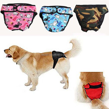 Large Dog Diaper Sanitary Physiological Pants Washable Female Dog Shorts Panties Menstruation Underwear Briefs