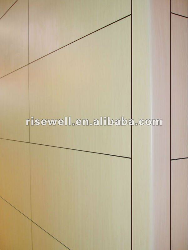 HPL decorative exterior wood wall cladding