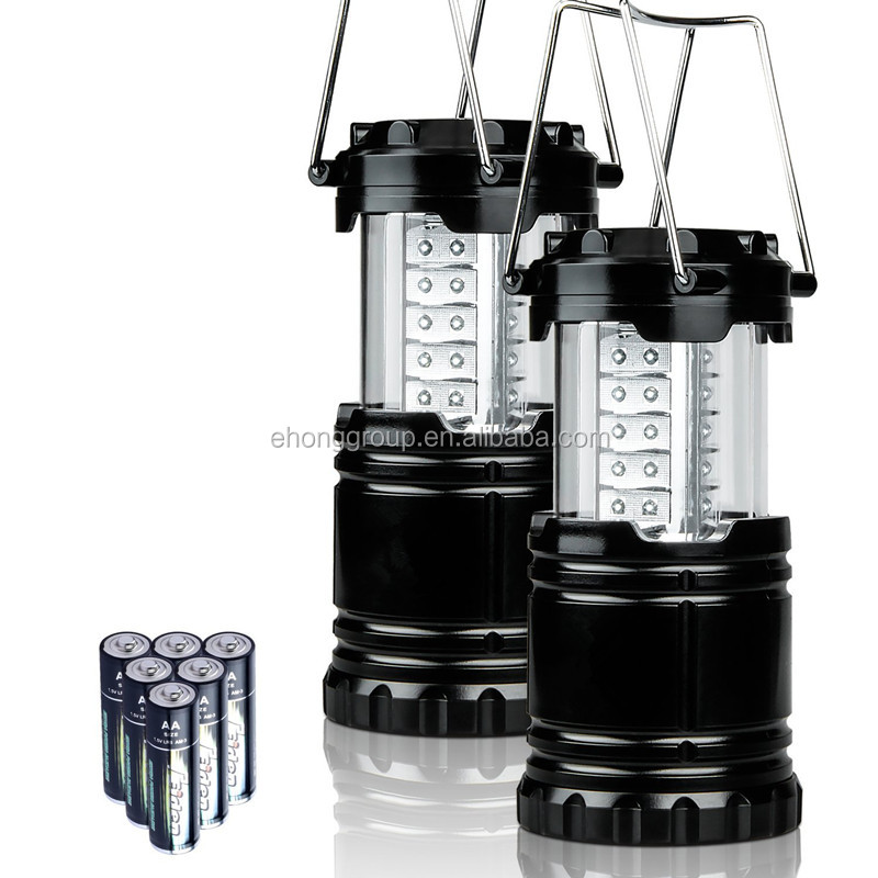 3AA battery powered outdoor led camping lantern portable battery lantern light for camping