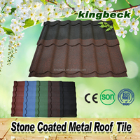 building material for roofing stone coated metal/classic stone coated zinc roof sheet price