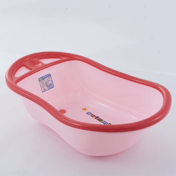 hot sale low price colorful  plastic baby  bath tub