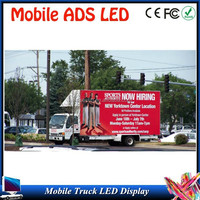 Outdoor mobile advertising LED display screen truck,Outdoor Mobile p10High-performance JAC truck led display,4x2 led advertising