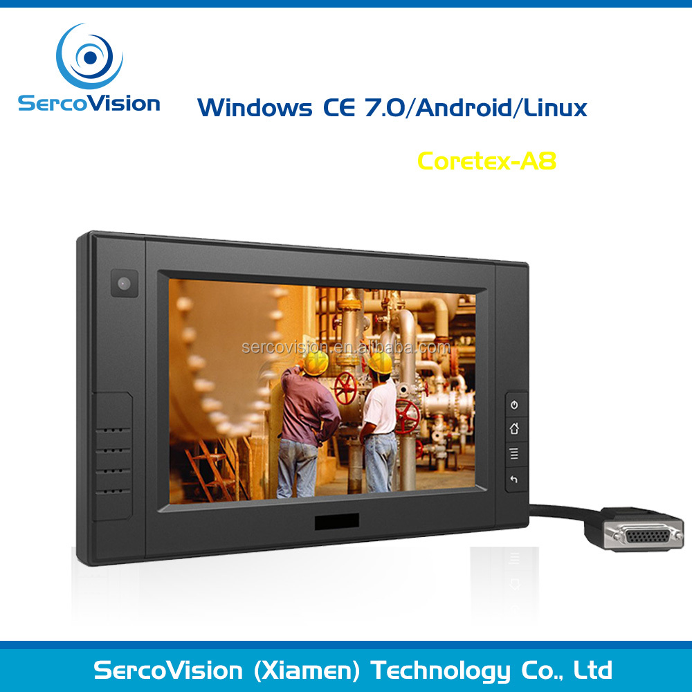 7 inch rugged ip 64 standard all in one android pc with wifi bluetooth 3g gps optional