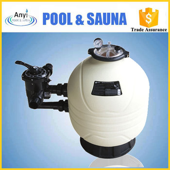Sea water well sand filter for water treatment plant