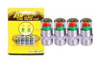 2.4 bar tire pressure,car tire Monitor pressure gauge,Cap Sensor Indicator 3 Color Eye Alert air pressure gauge