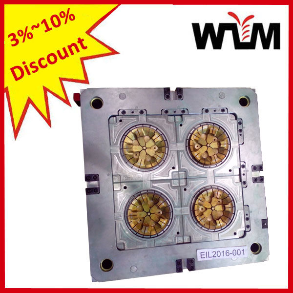 4 Cavity Hot Runner Preform Mould/Injection Molding mold on 3%-10% Discount
