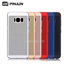 Hot matte hard plastic pc cooling shell cell phone case for samsung s8,for samsung s8case