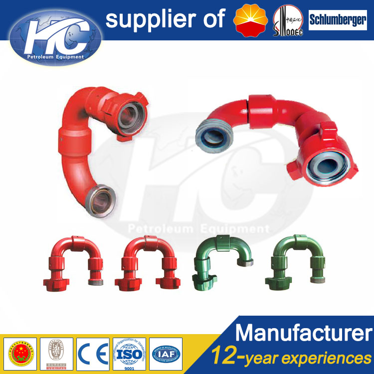 Petrochemical oil swivel joints / short radius swivel joints / lamp swivel joint