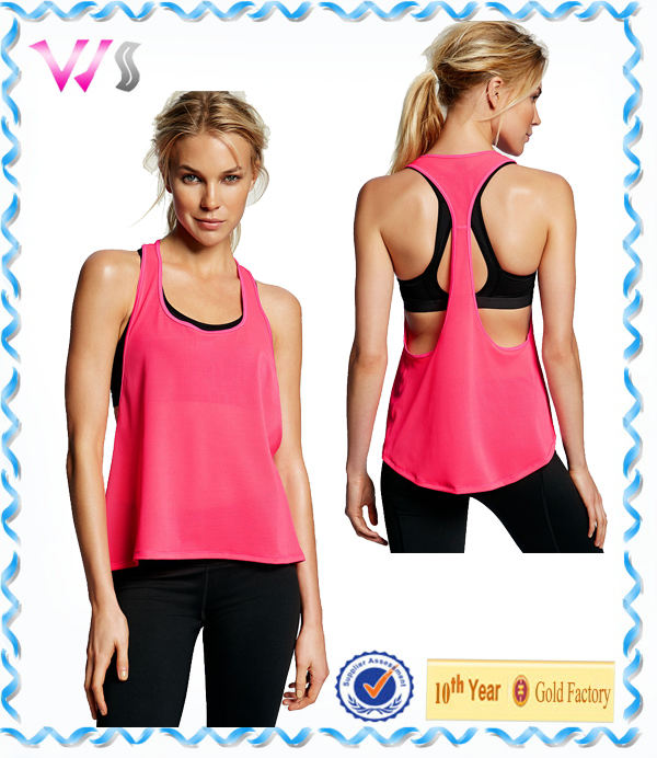Women Fitness dry fit crop top, sports tank tops for girls Wholesale