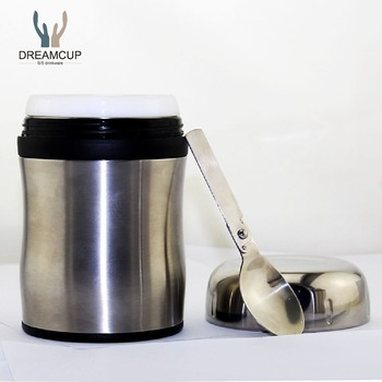 Good quality food grade stainless steel vacuum food storage jar