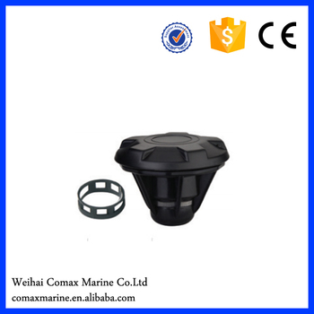 plastic air valve with stainless steel ring
