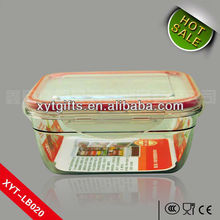 2013 HOt Sale lunch box plastic for easy carrying plexiglass Non-toxic