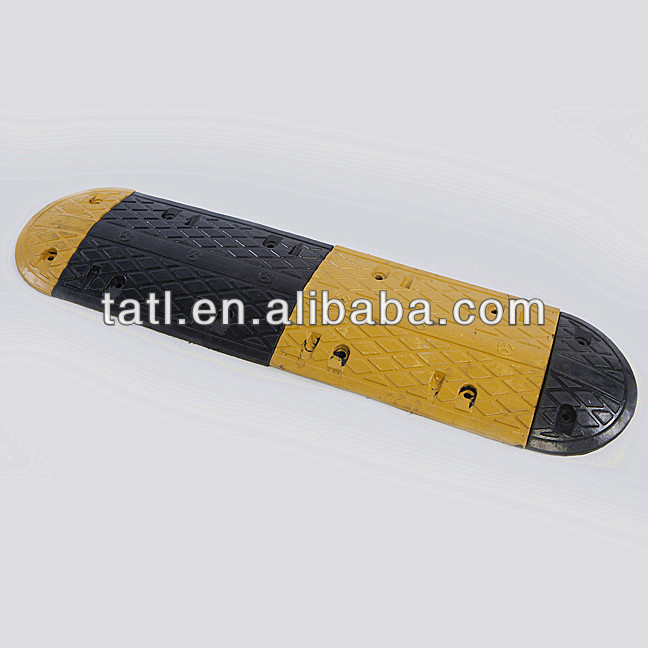 Rubber Speed Bump traffic safety