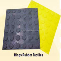 rubber tactile tiles for blind guidance