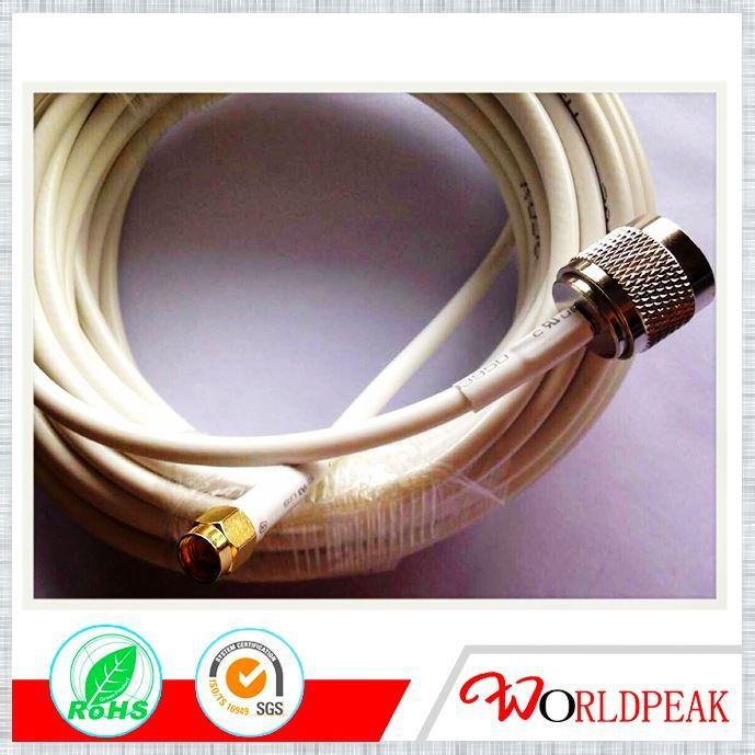 RF Coaxial Antenna Cable N Male Plug Adapter to SMA/FME/UHF/SMB/SSMB Female Jack Connector cable assembly