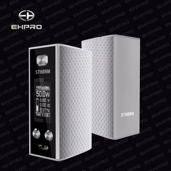 Fast sell big vapor ecig mod ehpro Sthorm SS adjustable brightness 1450mAh box mod